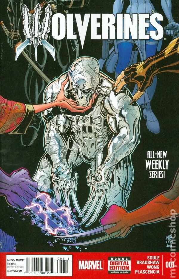 MARVEL COMICS 2014 NEAR MINT WOLVERINE # 5