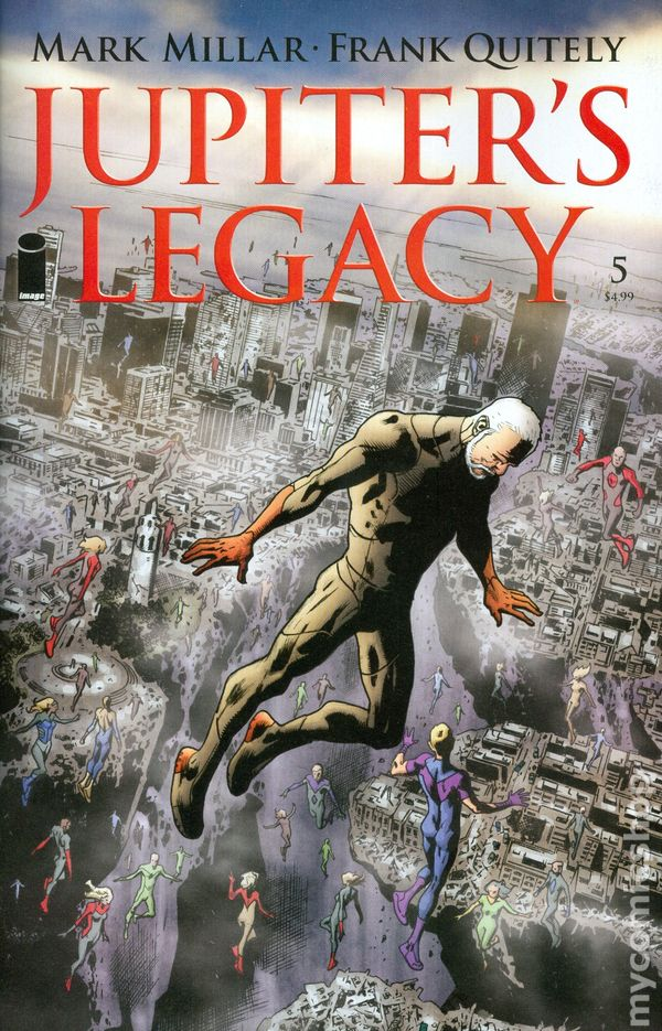 Jupiters Legacy Comic Books Issue 5