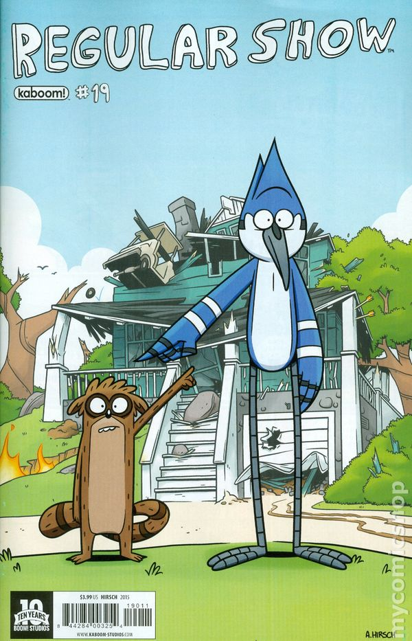 Think, what Regular show comics join. All