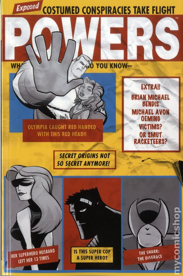 Powers Tpb 2014 Marvel 2nd Edition Comic Books