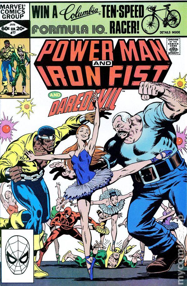power man and iron fist comic - 600×917