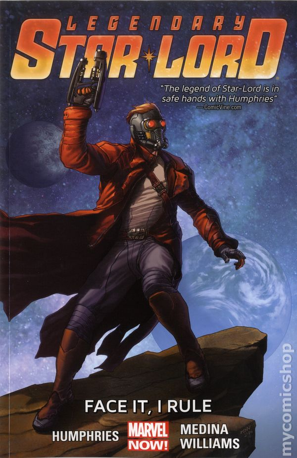 Legendary Star-Lord TPB (2015-2016 Marvel NOW) Guardians ...