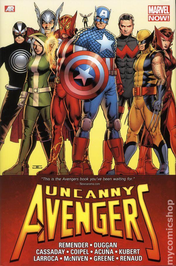 uncanny avengers omnibus hc 2015 marvel now comic books