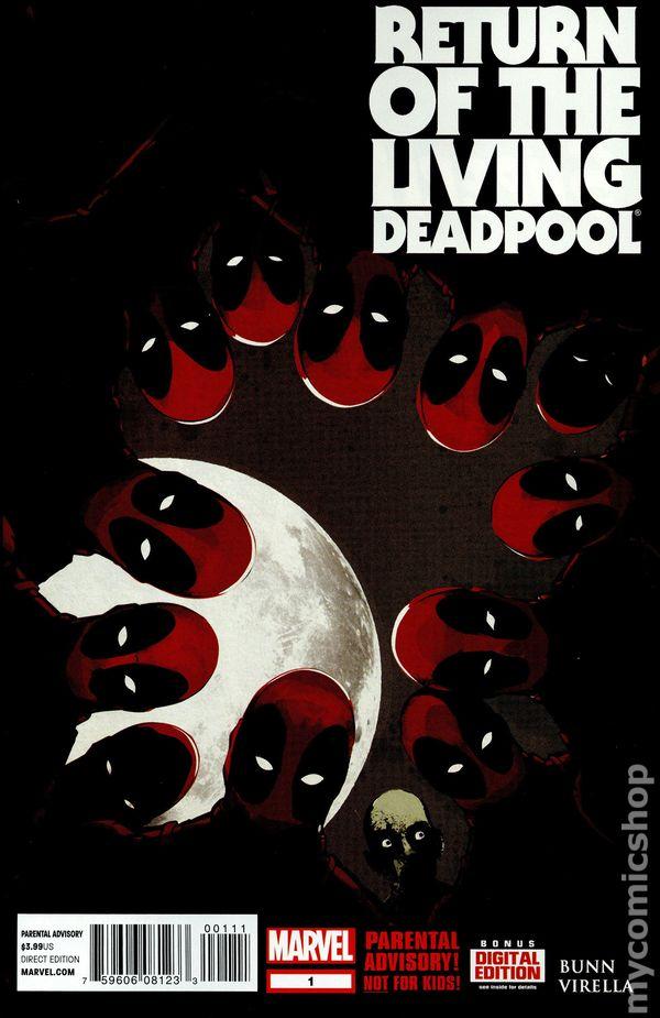 Marvel Night of the Living Deadpool Comic #1 2015 Cullen Bunn NM