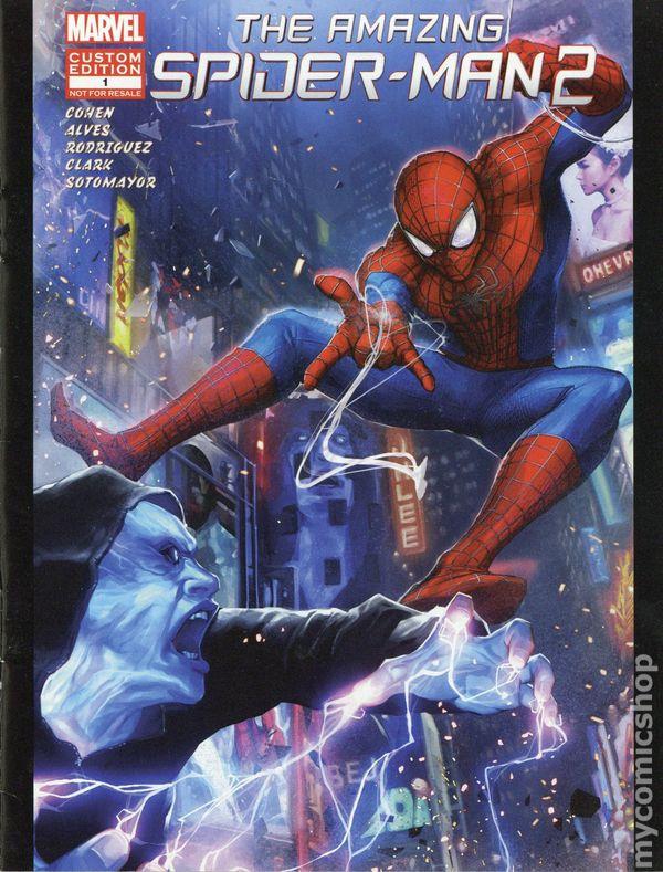 Amazing Spider Man 2 Rise Of Electro Mini Comic 2014 Custom Edition Comic Books