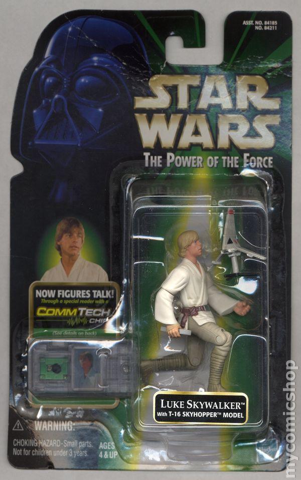 Power of the Force CommTech Luke Skywalker Action Figure by Hasbro Toy Rocket 84211 Star Wars