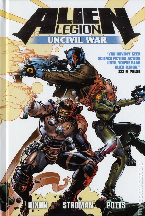 Alien Legion Uncivil War #2 FN 2014 Stock Image