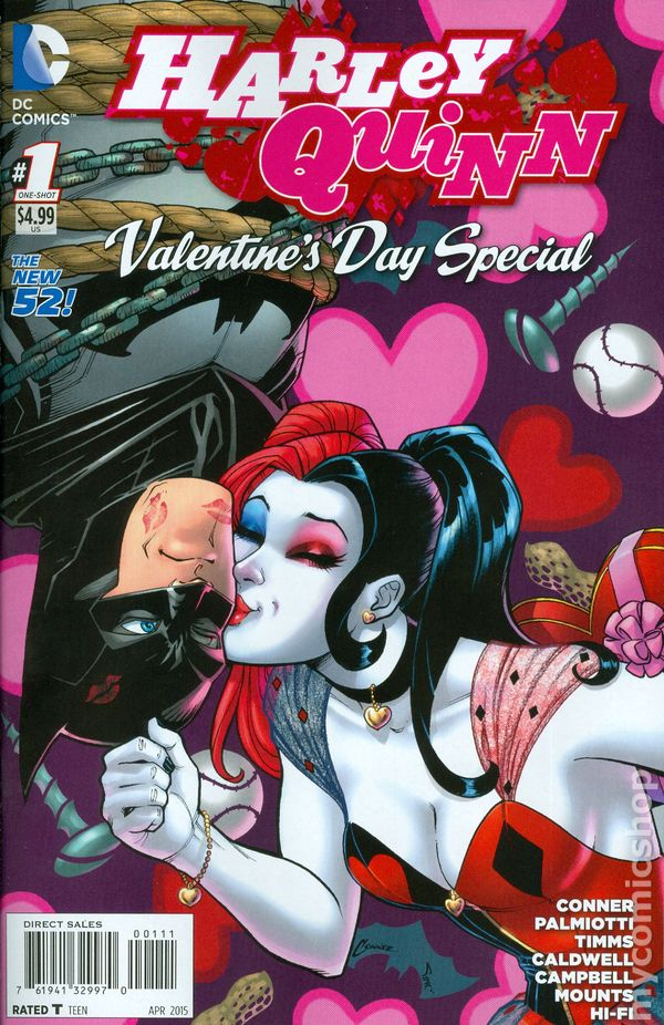 harley quinn valentines day special 2015 comic books - Valentines Day In Dc