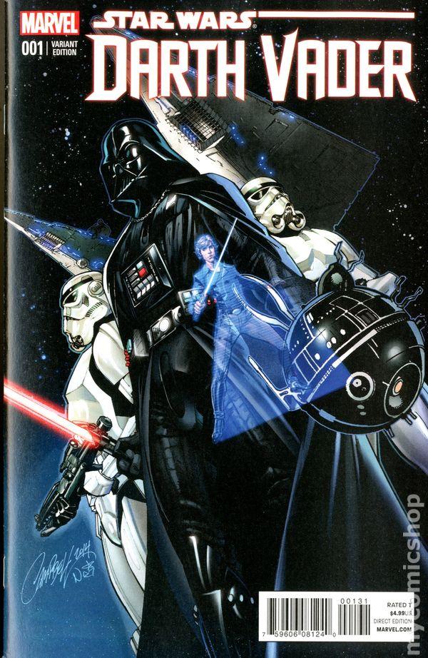 Star Wars Darth Vader 2015 Marvel Comic Books