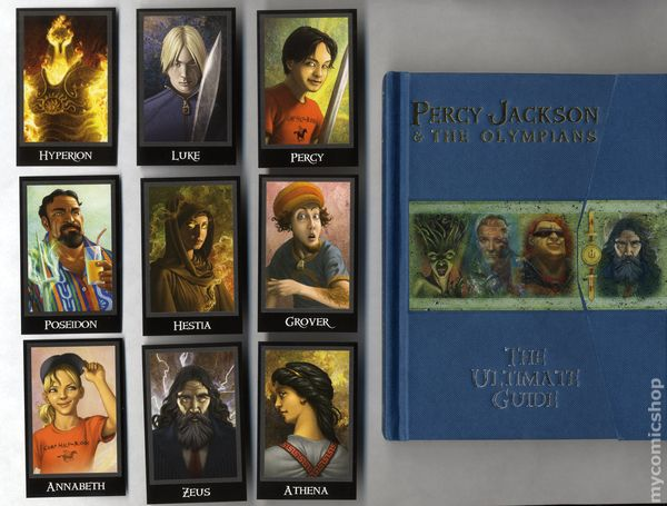 percy jackson and the olympians the ultimate guide hc 2010 disney rh mycomicshop com percy jackson ultimate guide pdf percy jackson ultimate guide pdf