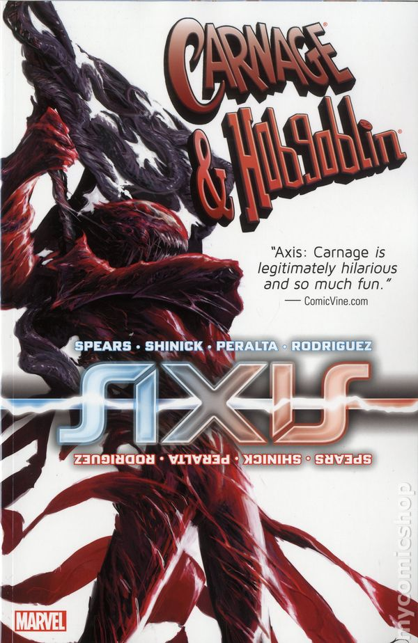 Hobgoblin Marvel Axis Axis Carnage And Hobgoblin Tpb