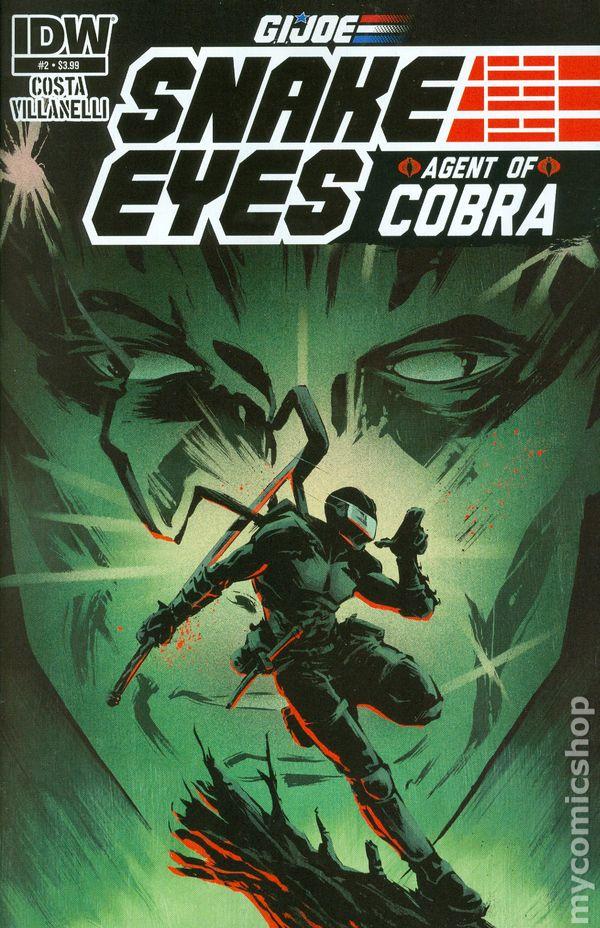 GI Joe Snake Eyes Agent of Cobra