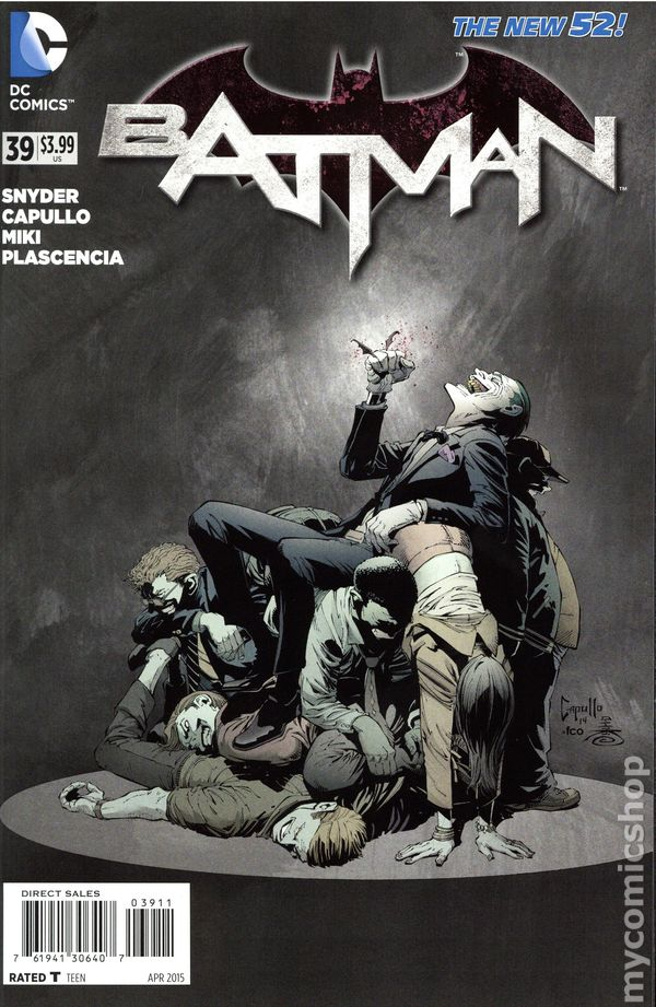 Batman Eternal #45 Regular Cover 1st Print DC Comics Apr 2015 New 52