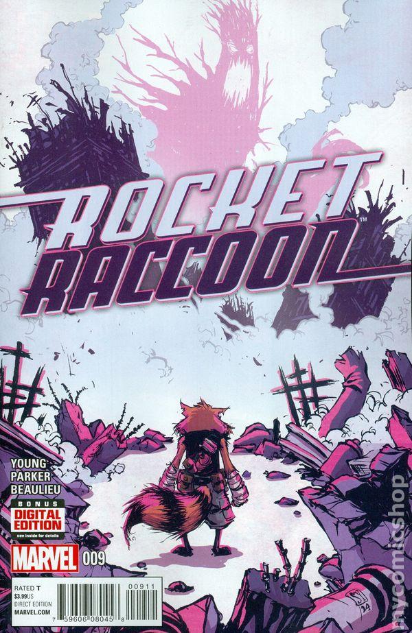 #9A 2015 VF Stock Image Rocket Raccoon 2nd Series