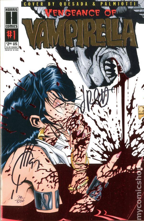Vengeance of Vampirella #4 ~ Harris Comics
