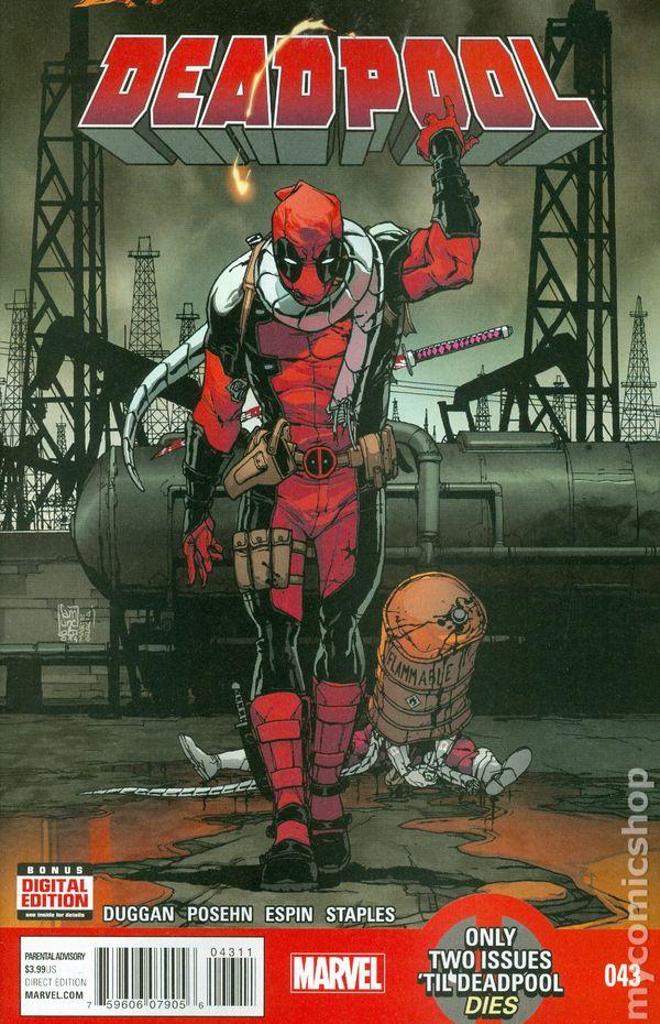 Deadpool 2012 3rd series comic books for Dead pool show in jaipur