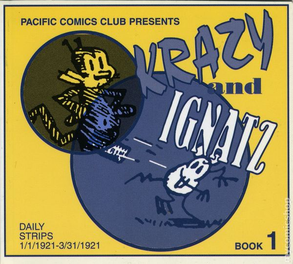 JOHNNY HAZARD by Frank Robbins PACIFIC COMICS CLUB Reprints 1981 Vol 8 RARE