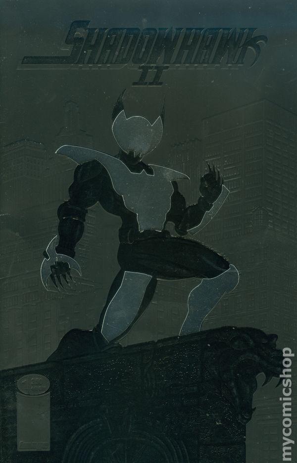 Shadowhawk II 1993 series # 1 near mint comic book
