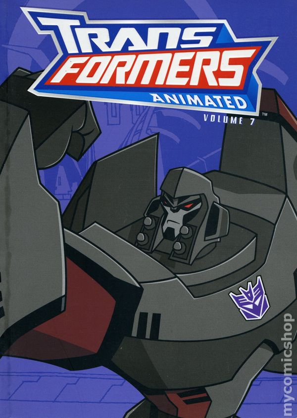 Animated Tpb Transformers 2008 Series #3 Near Mint