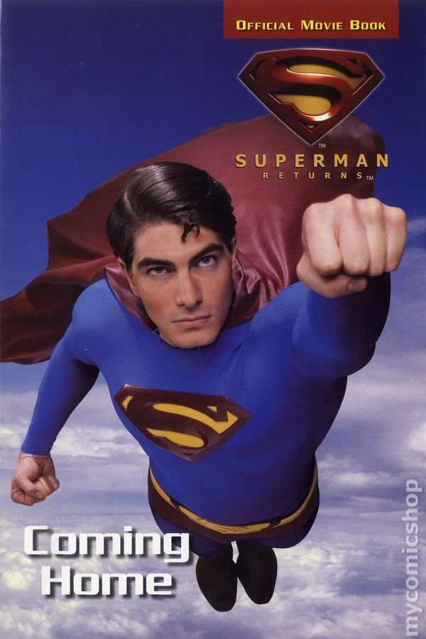 Comic books in 'Superman Returns Official Movie Book'