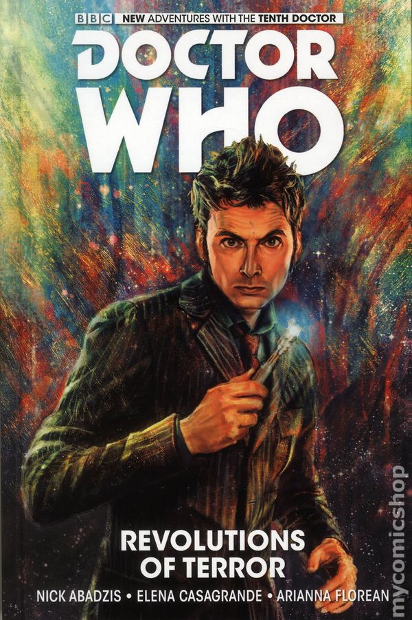 DOCTOR WHO 10TH DOCTOR VOLUME 2 WEEPING ANGELS OF MONS HARDCOVER Collects #6-10