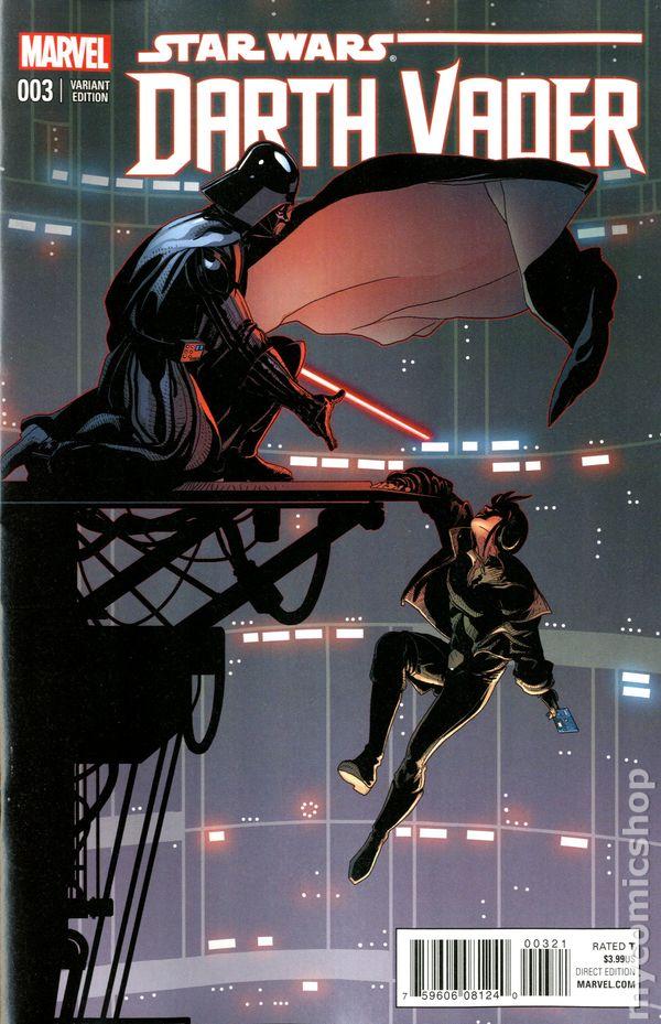 Star Wars Darth Vader 2015 Marvel 3b