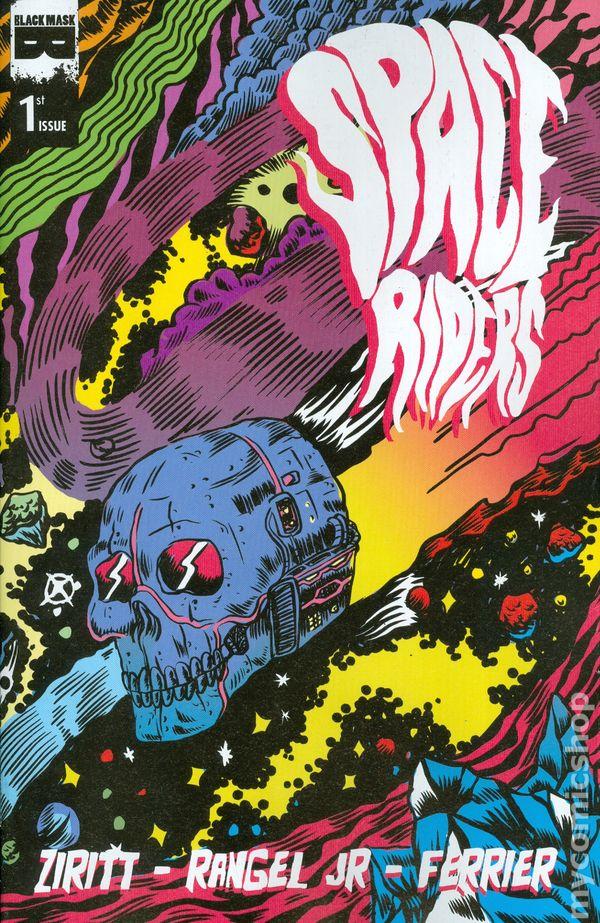 space riders 2015 black mask comics comic books