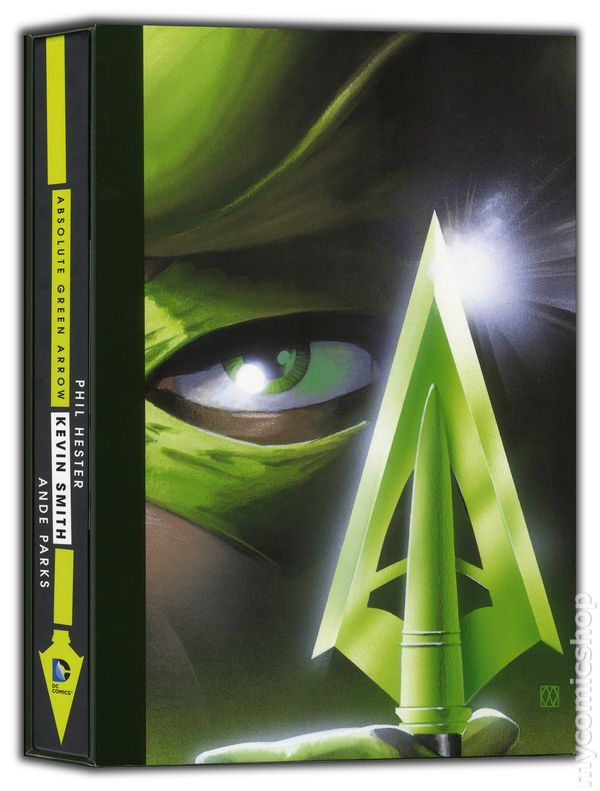 Green Arrow Comic Books Issue 1