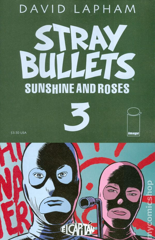Stray Bullets Comic Books Issue 3