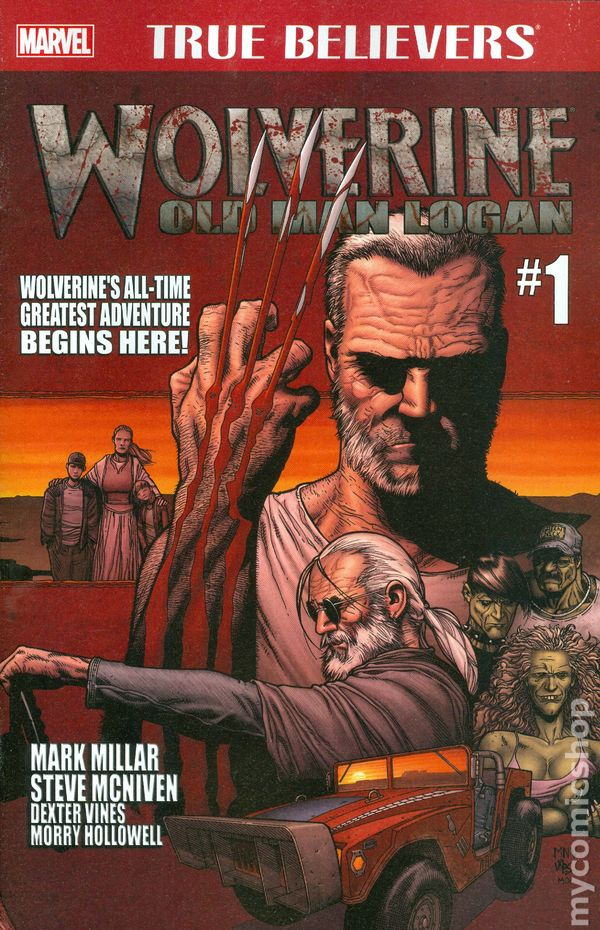 old man logan comic books issue 1