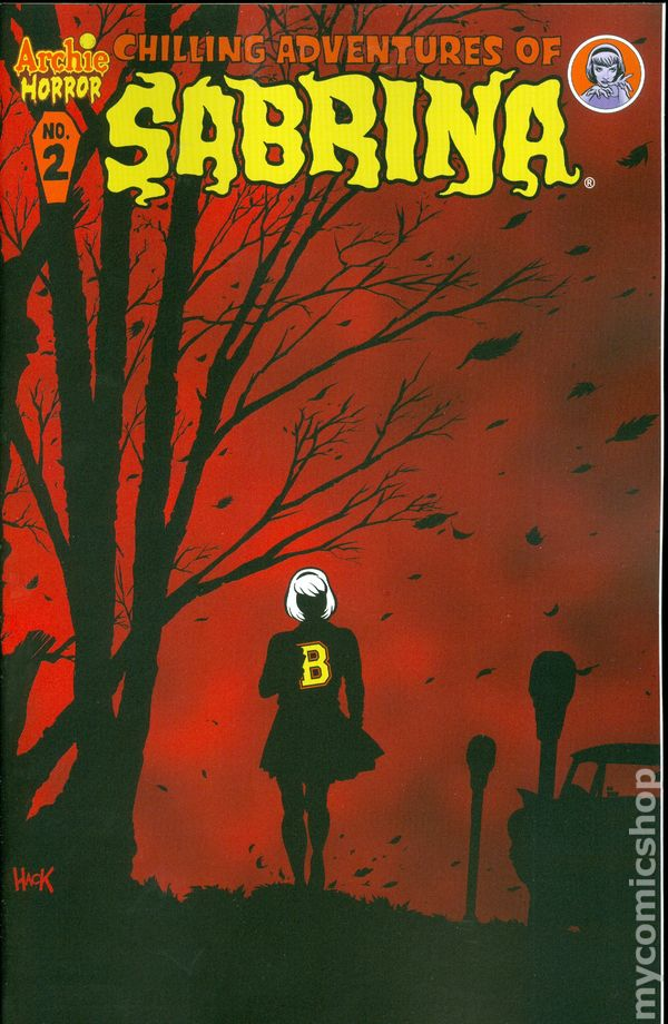 Chilling Adventures Of Sabrina 2014 Archie Comic Books