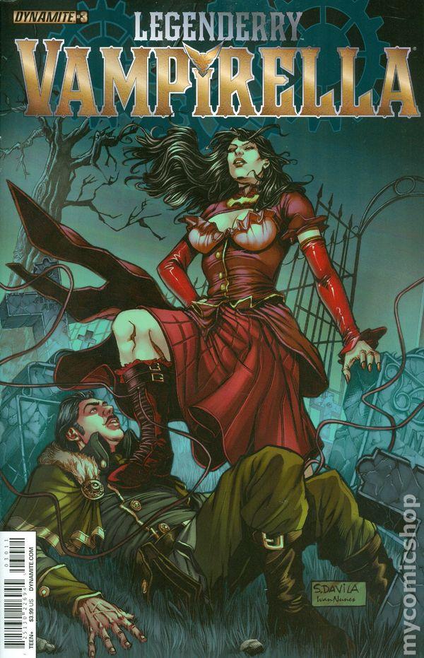Legenderry Vampirella 2015 Dynamite Comic Books