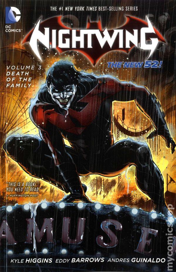 Nightwing Tpb 2012 2014 Dc Comics The New 52 Comic Books
