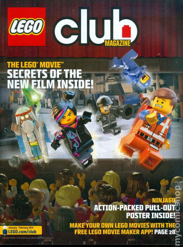 Lego Club Magazine comic books
