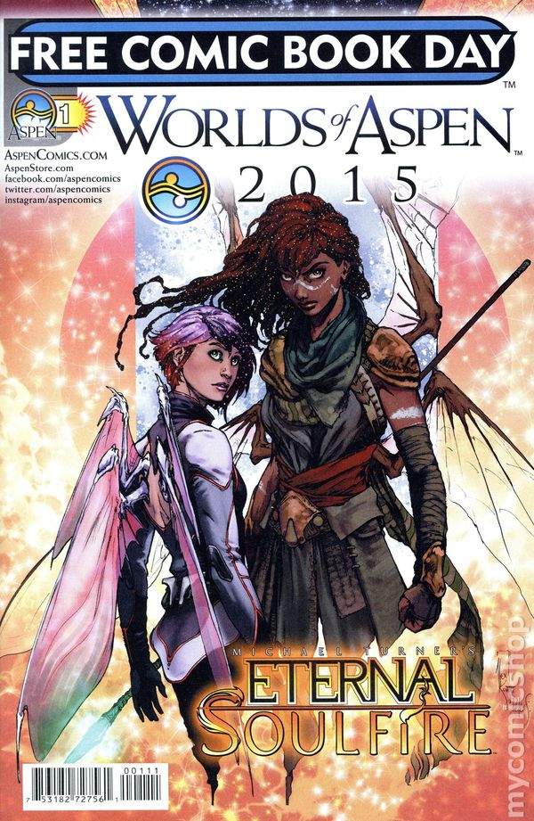 Worlds of Aspen 2011 Free Comic Book Day Issue