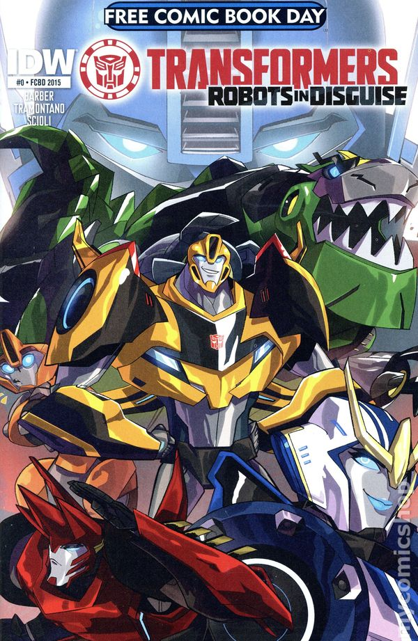 Transformers Robots In Disguise 2015 IDW FCBD 1