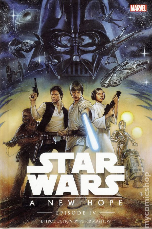 Star Wars Episode Iv A New Hope Hc 2015 Marvel Comic Books