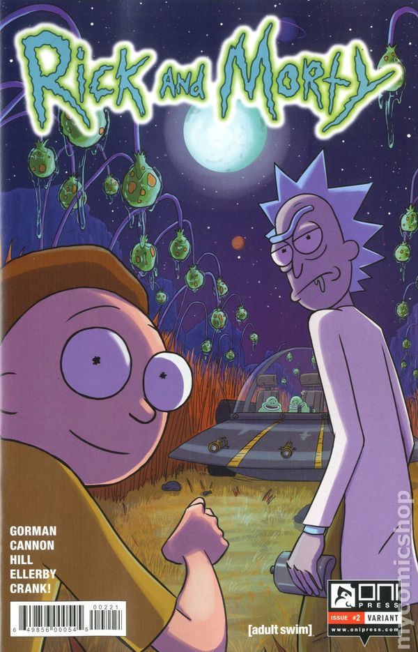 Rick And Morty 2015 Comic Books