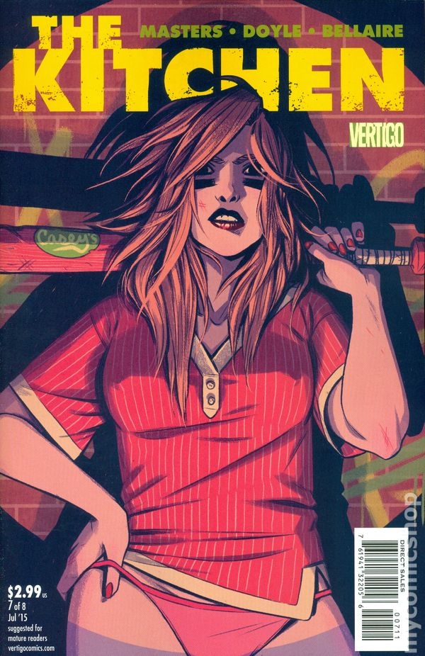 Kitchen 2014 Dc Vertigo Comic Books