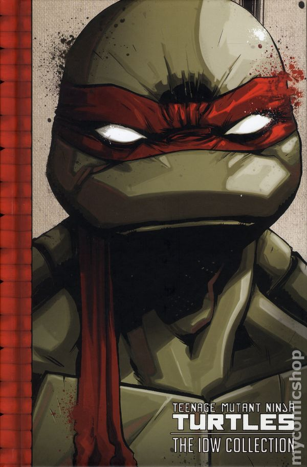 Teenage Mutant Ninja Turtles The IDW Collection HC 2015 1 1ST