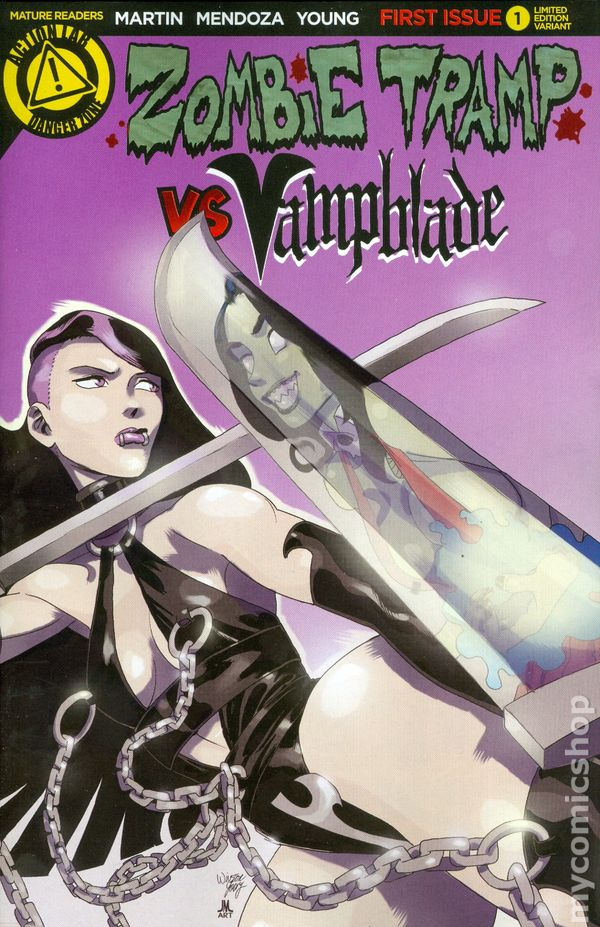 Cool Book Cover Zone : Zombie tramp vs vampblade comic books