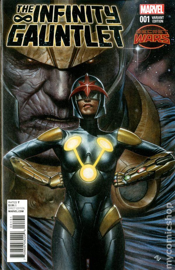 infinity gauntlet (2015 2nd series) comic books