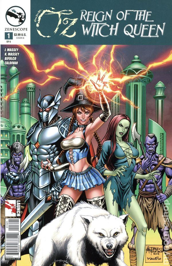 Oz Reign Of The Witch Queen 2015 Zenescope Comic Books