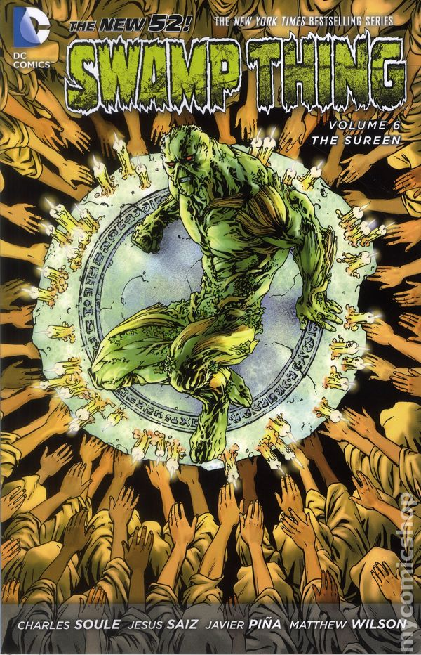 DC Comics New 52 SWAMP THING ANNUAL #3 first printing