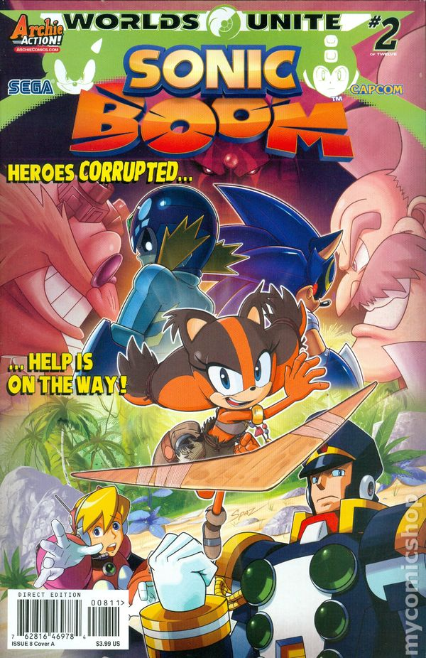 SONIC BOOM #10C Poster Part 10 Cover