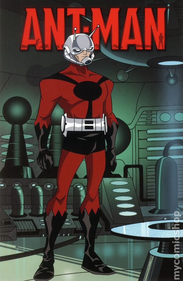 It is a picture of Dramatic Marvel Heroes Ant Man