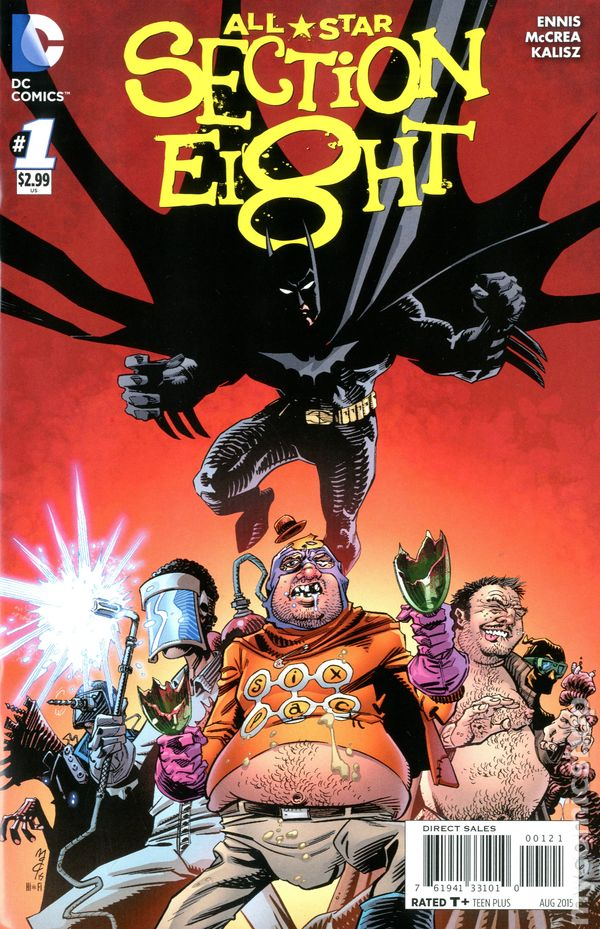 All Star Section 8 (2015 DC) comic books