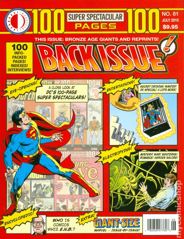 Back Issue Magazine Comic Books - Magazines look superheroes real