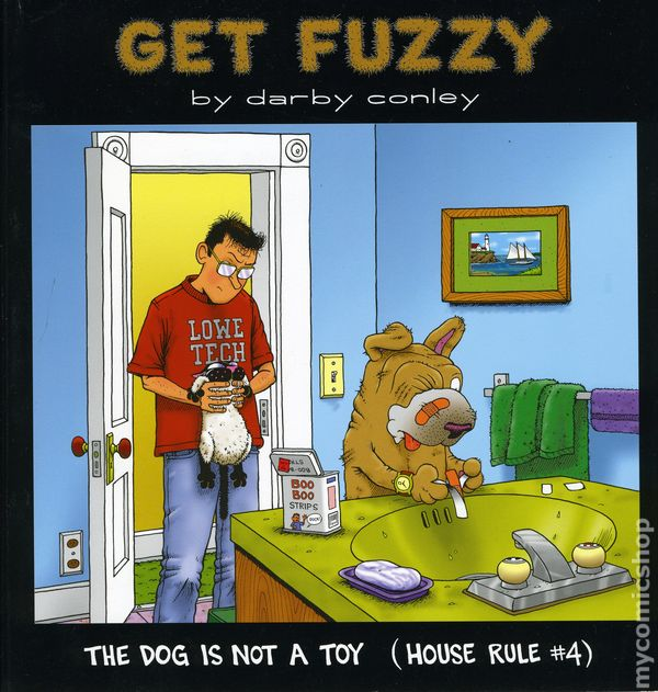dog is not a toy house rule 4 tpb 2001 andrews mcmeel a get