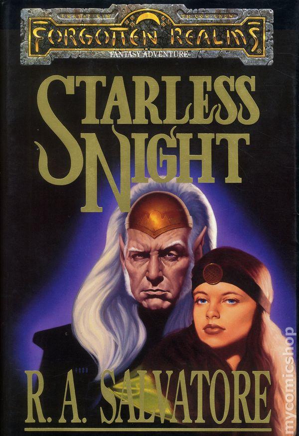 Forgotten Realms Starless Night HC (1993 TSR Novel) 1st Edition 1-1ST VG